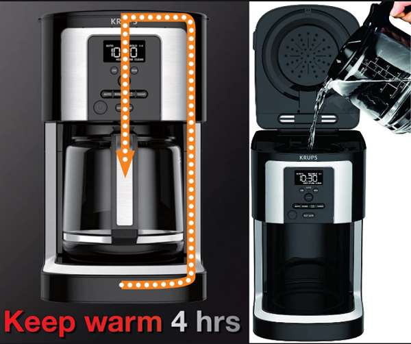 What are the Key Features of the KRUPS EC330 Coffee Maker